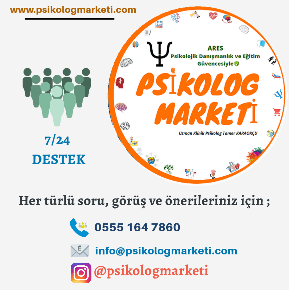 Photo ofİLETİŞİM - Psikolog Marketi